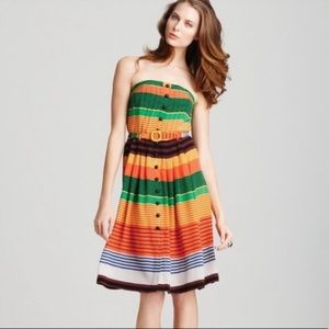 NWT Dress by Plenty for Tracy Reese multi striped